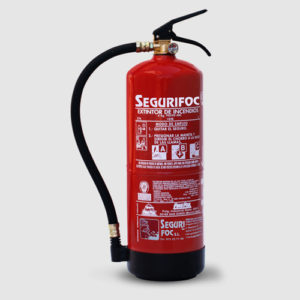 extintores de polvo segurfioc girona
