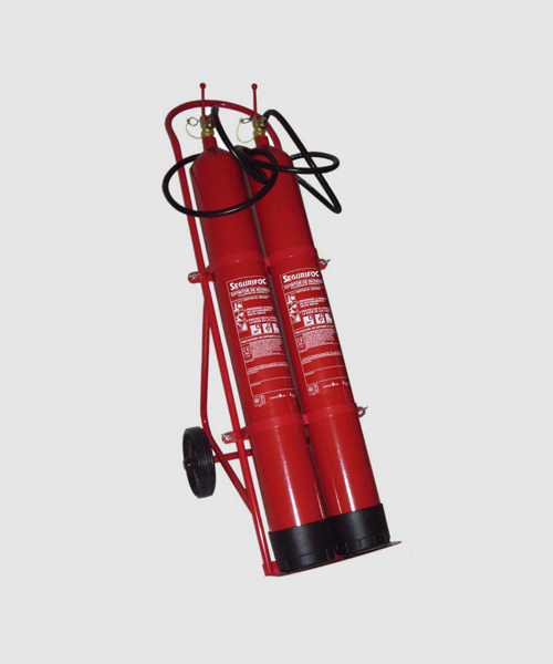 extintor CO2 dioxido de carbono segurifoc girona