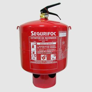 extintor automático y extintores sprinkler segurifoc girona